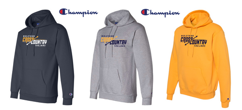 Champion Double Dry Eco Hooded Sweatshirt - Midlothian XC