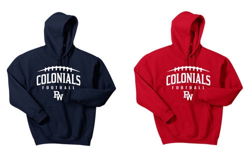 Basic Hooded Sweatshirt - Adult - PW Football