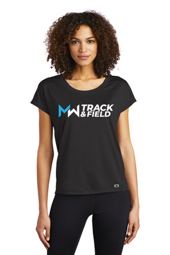 OGIO ENDURANCE Ladies Pulse Dolman Tee - Midd-West Track & Field