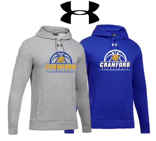 UA Hustle Fleece Hoody - Cranford Girls Basketball
