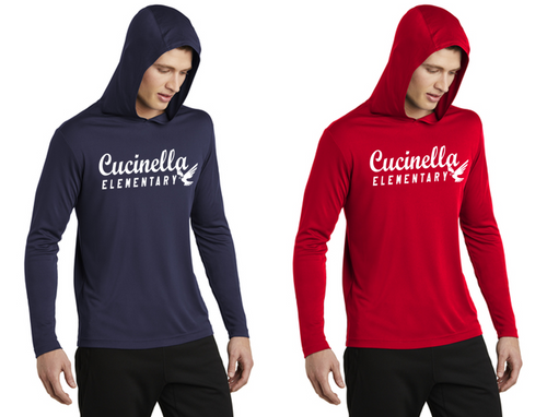 Hooded Long Sleeve - Adult - Cucinella Elementary