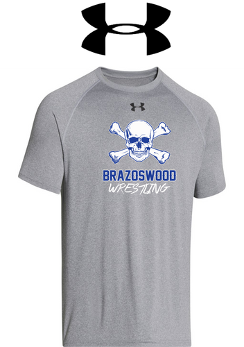 UA Locker Tee 2.0 - Brazoswood Wrestling