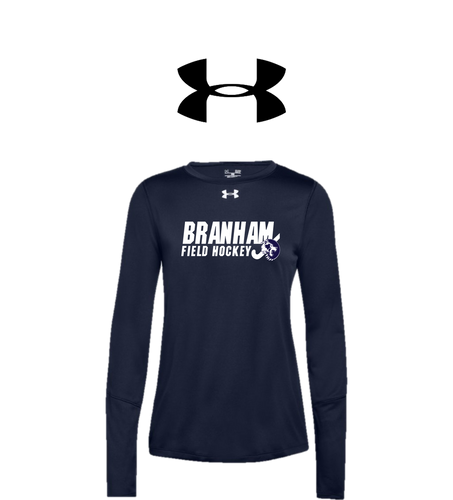 UA Women's Locker Long Sleeve 2.0 - Branham Field Hockey