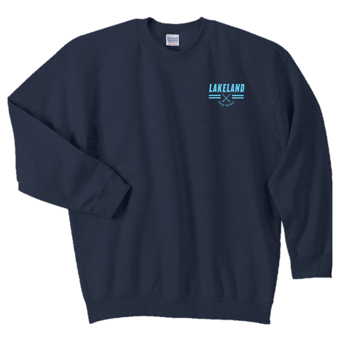 Fan Favorite Fleece Crewneck Sweatshirt - LAKELAND FIELD HOCKEY