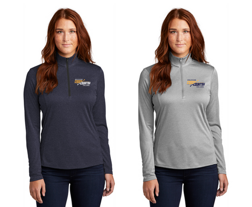 Ladies Ladies Endeavor Lightweight 1/4-Zip - Midlothian XC