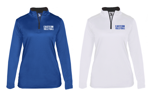 Ladies B-CORE Lightweight 1/4 Zip - Bristol Eastern Volleyball