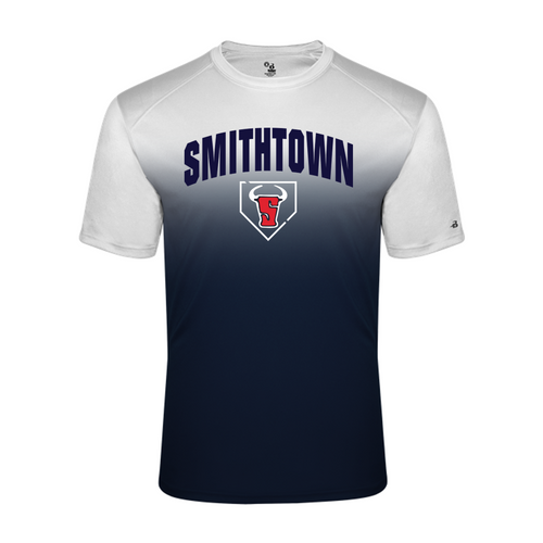 OMBRE PERFORMANCE TEE - Adult - Smithtown Youth Baseball