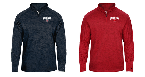Tonal Lightweight 1/4 Zip - Adult - Smithtown Youth Baseball