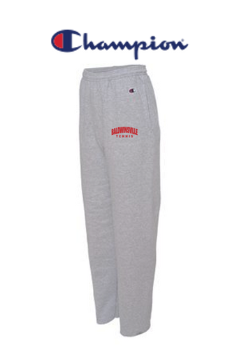 Champion - Open Bottom Sweatpants with Pockets - B-VILLE BOYS TENNIS