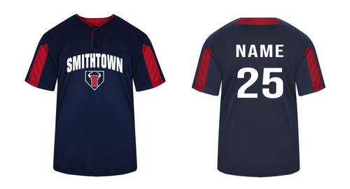 Striker Placket Jersey - YOUTH - Smithtown Youth Baseball