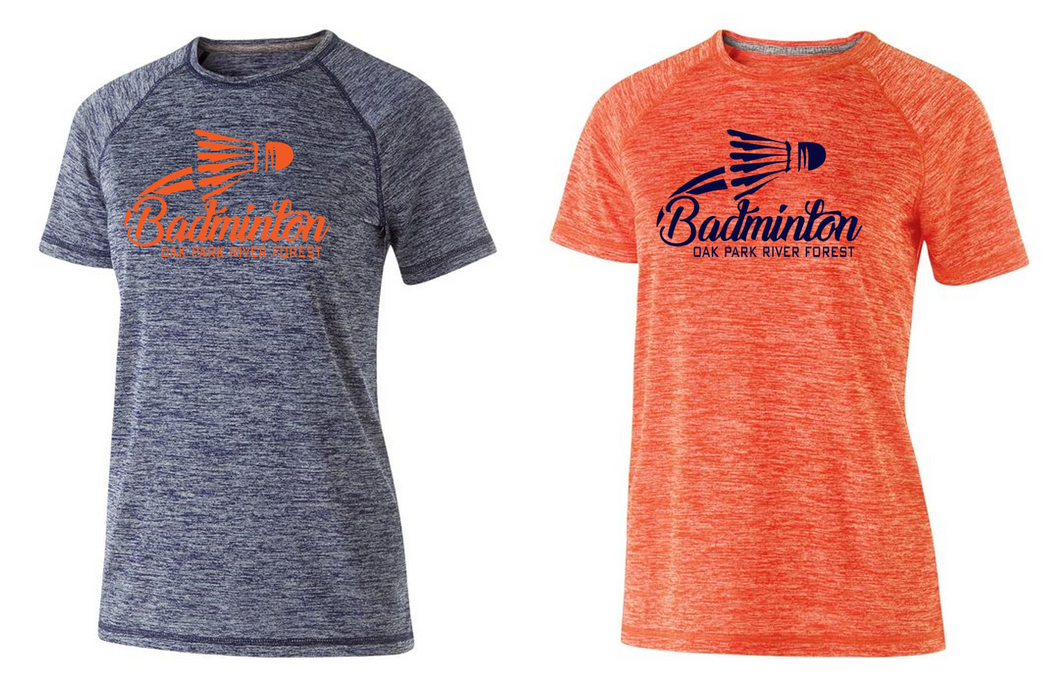 Ladies Electrify Performance Tee - OPRF Badminton