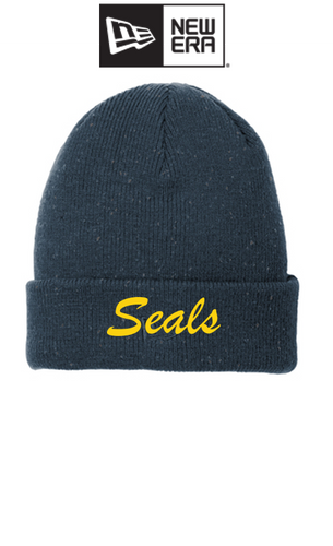 *New Era ® Speckled Beanie - Pinole Seals Swim
