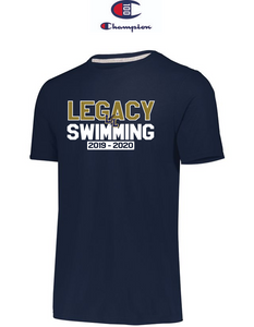 Champion Adult Short-Sleeve T-Shirt - LEGACY SWIMMING