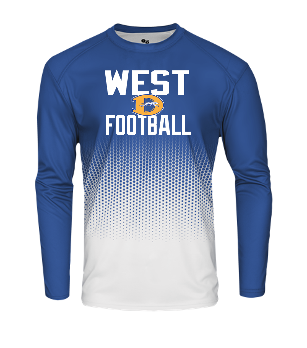 HEX LONG SLEEVE - Downingtown West Football