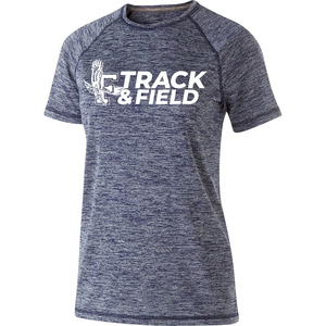 Ladies Electrify Performance Tee - Framingham Track