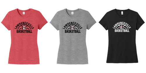 Women's Perfect Tri Tee - Lawrenceville Basketball