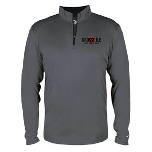 B-CORE 1/4 ZIP - GROSSE ILE TRAP SHOOTING