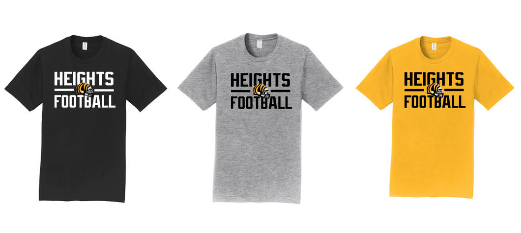 Fan Favorite Tee - Cleveland Heights Football
