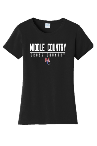 Ladies Fan Favorite Tee - Middle Country XC