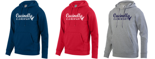 Hooded Sweatshirt - YOUTH - Cucinella Elementary