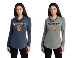 New Era  Ladies Cowl Tee - Godwin Heights Softball