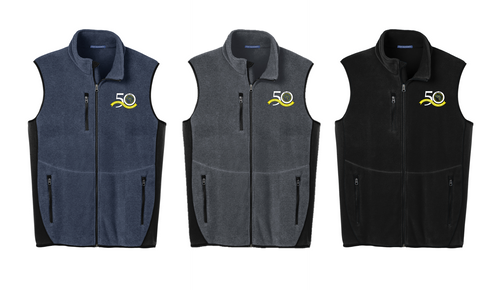 *R-Tek® Pro Fleece Full-Zip Vest - East Jersey Trout Unlimited