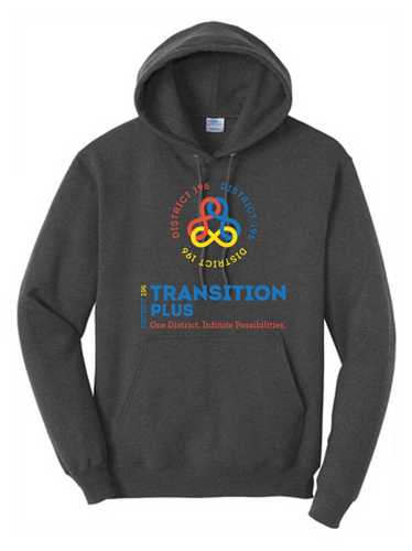 Hooded Sweatshirt - District 196 Transition Plus