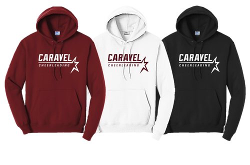 Hooded Sweatshirt - Caravel Academy Cheer