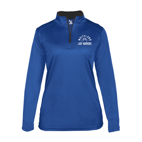 WOMEN'S LIGHT WEIGHT 1/4 ZIP - WHITELAND GIRLS BASKETBALL
