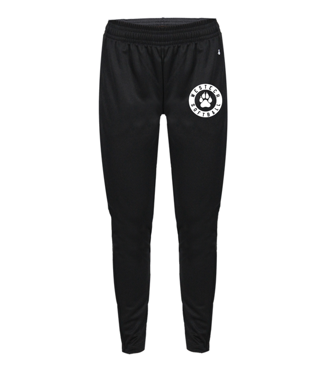 LADIES TRAINER PANT - WESTECH SOFTBALL