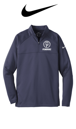 Nike Therma-FIT 1/2-Zip Fleece - Pembroke Basketball