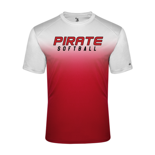 OMBRE PERFORMANCE TEE - Adult - Ash Grove Softball