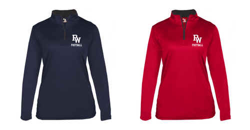 B Core Lightweight 1/4 Zip - Ladies - PW Football