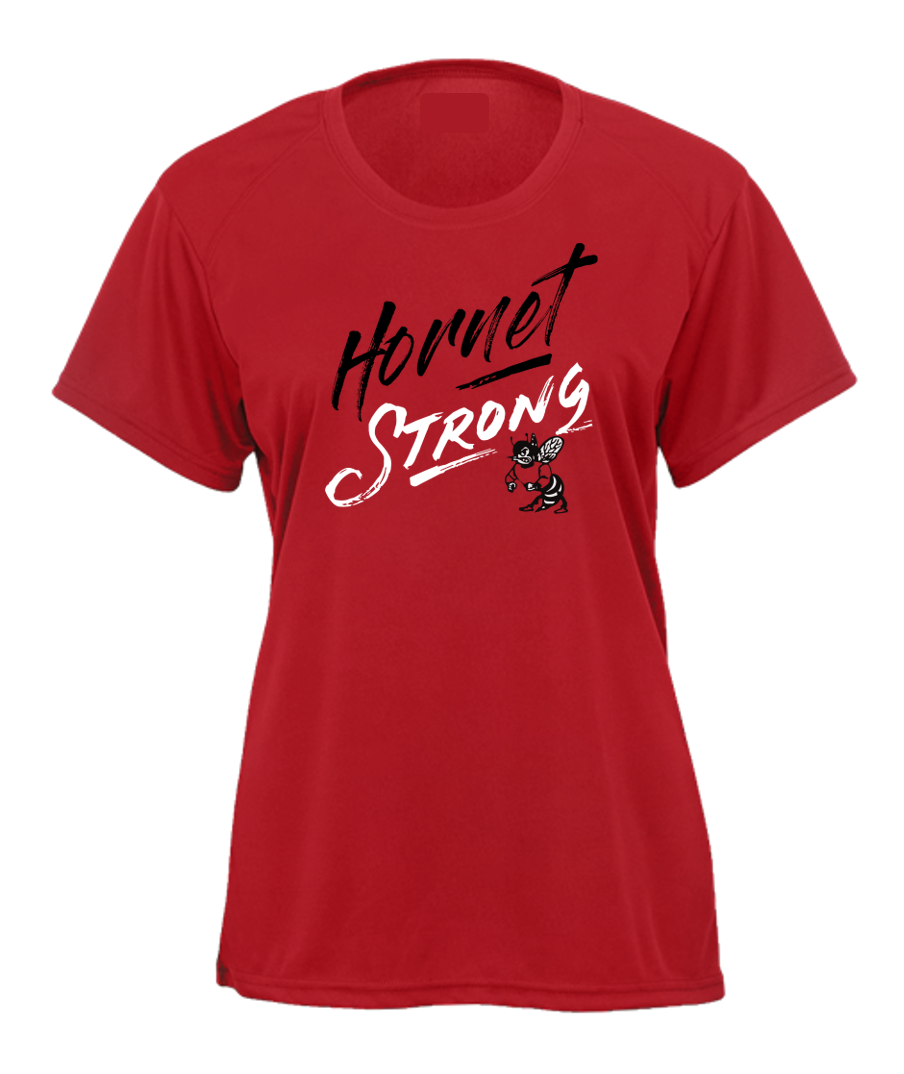 Ladies Tee - HONESDALE HORNET STRONG