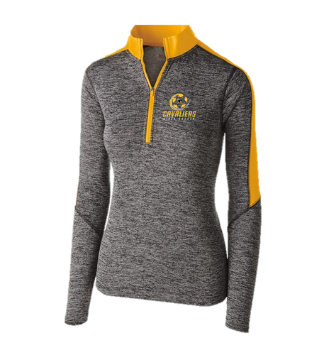 LADIES ELECTRIFY 1/2 ZIP PULLOVER - South Carroll Girls Soccer
