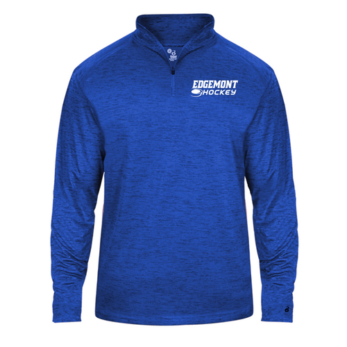 TONAL BLEND 1/4 ZIP (Lightweight) - Adult - Edgemont Hockey