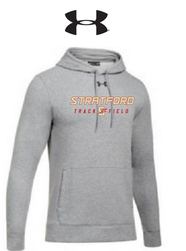 UA Hustle Fleece Hoody - Adult - Stratford Track & Field