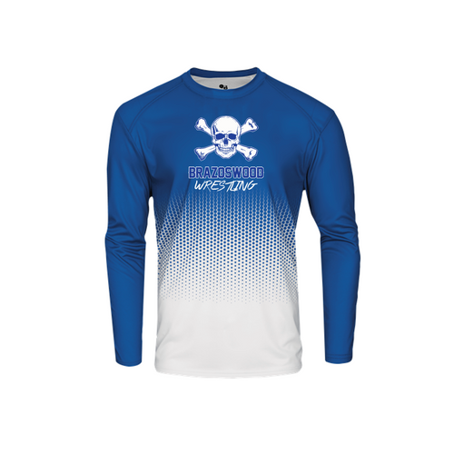 Hex Long Sleeve - Brazoswood Wrestling