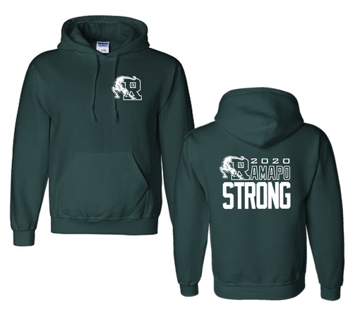 Hooded Sweatshirt - RAMAPO STRONG