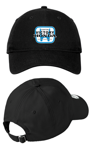 *New Era Adjustable Unstructured Cap - Canton Victory Honda