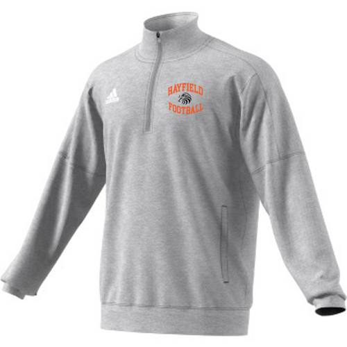 ADIDAS TEAM ISSUE 1/4 ZIP -Adult - Hayfield Football Coaches