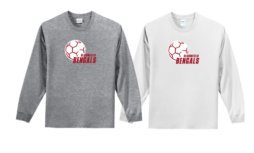 FAN TEE LONG SLEEVE - Bloomfield Girls Soccer