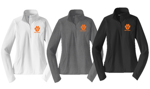 Stretch 1/2-Zip Pullover - Ladies - Central York XC