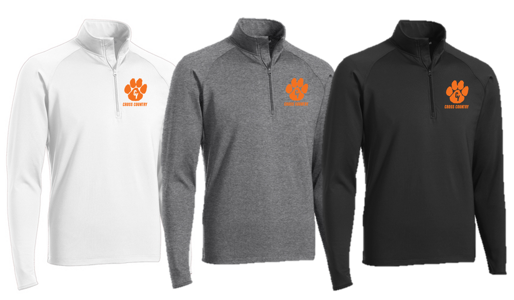 Stretch 1/2-Zip Pullover - ADULT - Central York XC