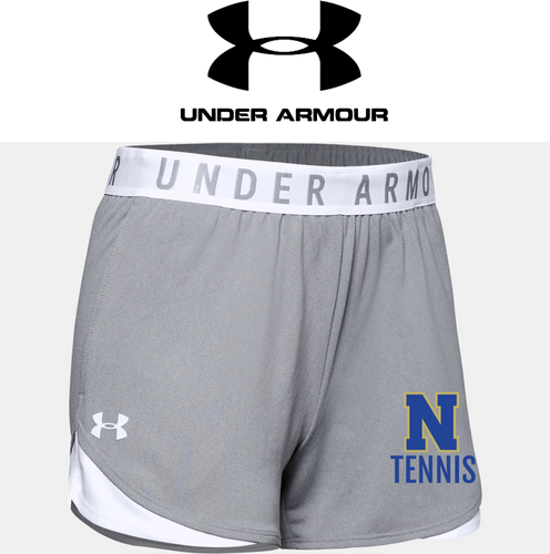 Ladies UA Play Up Shorts 3.0 - NORWELL TENNIS