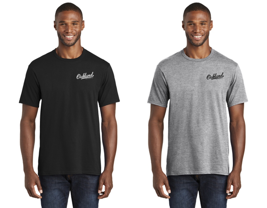 Short Sleeve Core Blend Tee - OAKLAND SCHOOLS