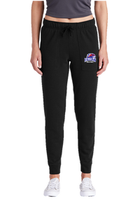 Ladies Tri-Blend Wicking Fleece Jogger - Briggsdale Volleyball