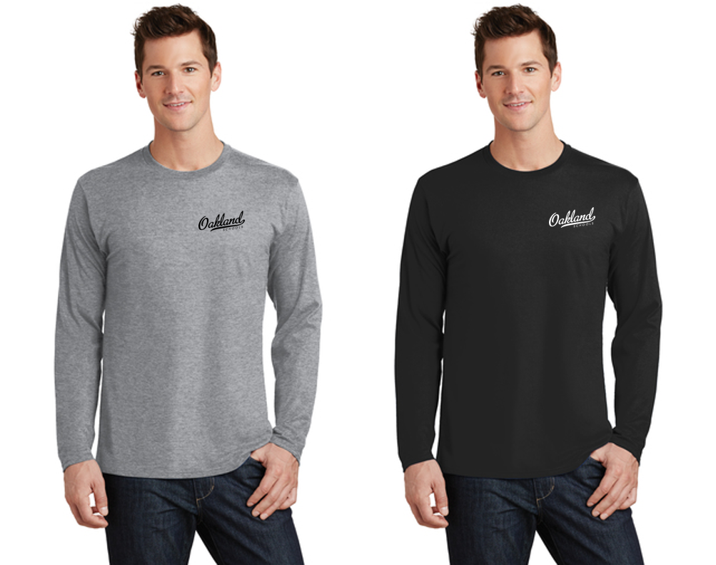 Long Sleeve Core Blend Tee - OAKLAND SCHOOLS