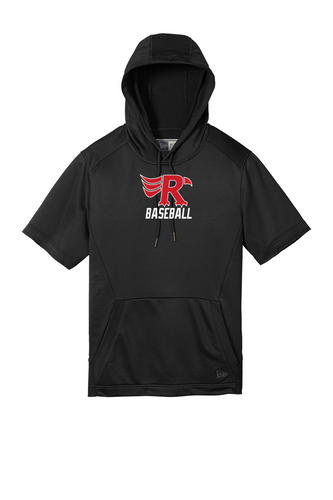New Era Performance Terry Short Sleeve Hoodie - LOWVILLE BASEBALL