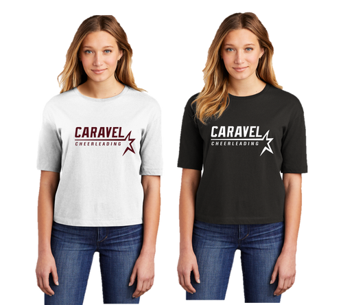 Boxy Tee - Caravel Academy Cheer